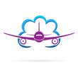 Flugzeug / Wolke