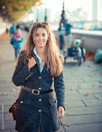 Young Woman in London