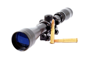 Rifle Scope and Bullets