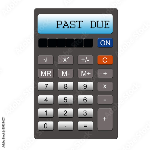 Past Due Calculator