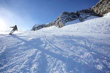 Snowboarding Kaprun Kitzsteinhorn