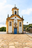 Church in Ouro Preto Brazil
