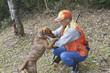 ハンターと狩猟犬