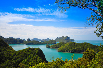 View of Ang Thong National Marine Park, Thailand