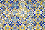 Typical andalusian tiled wall