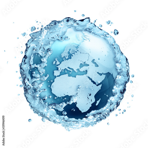 water recycle on the world - Europe