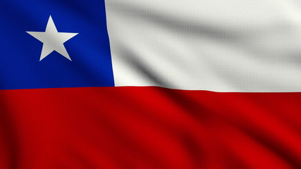 Flag of Chile looping