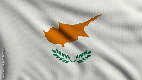 Flag of Cyprus looping