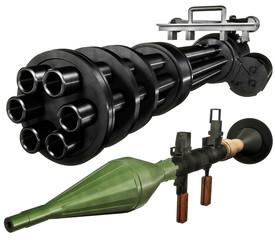 Heavy weapons set