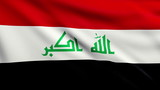 Flag of Iraq looping