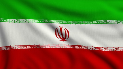 Flag of Iran looping
