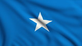 Flag of Somalia looping