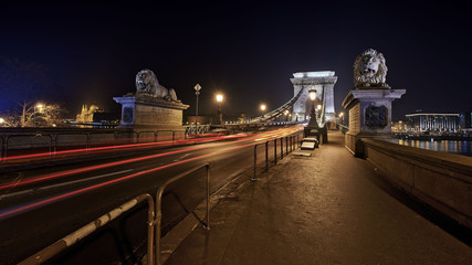 Chain Bridge, Budapest - Hungary