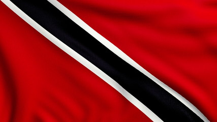 Flag of Trinidad and Tobago looping