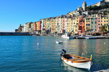 Portovenere, Italy and its colorful houses