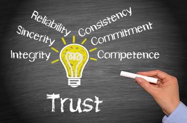 Trust - Business Concept