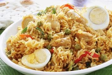 indian biriyani rice