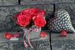 Rosenstrauss mit Herz