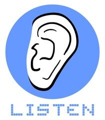 Icon listen