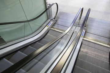 Escalators in the city