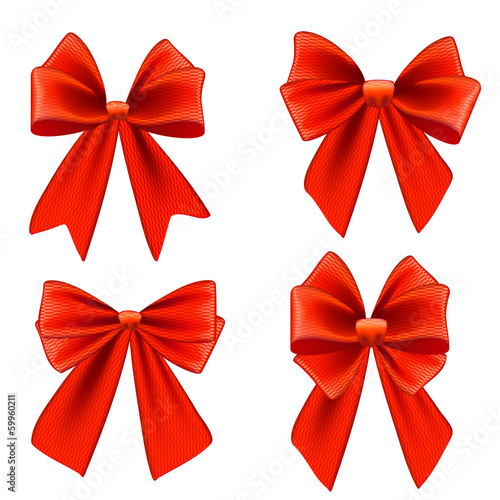 Set of bows