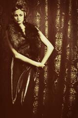 vintage shot