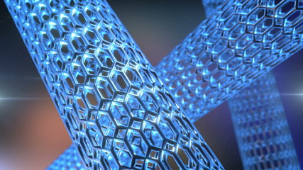 Nanotube rotate