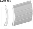 Coupe lame volet aluminium