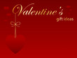 VALENTINE'S GIFT IDEAS (for her day love tag)