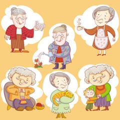 Doodle Grandmas.