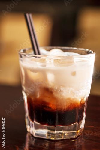 coffee with ice cream