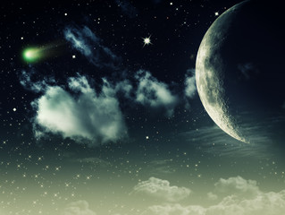 Night skies, abstract environmental backgrounds for your design