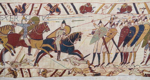 Papiers peints Europe Méditérranéenne Bayeux tapestry - Norman invasion of England