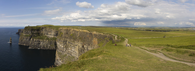 Cliffs of Moher Panorama - Ireland