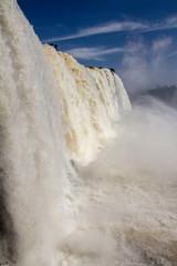 Iguassu Falls close up - Brazil
