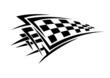 Tribal sport racing tattoo - 59970685