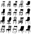 Sets of silhouette chair 2