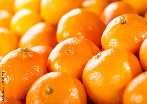 canvas print picture orange fruits
