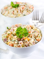 traditional russian salad