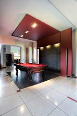 Elegant pool hall