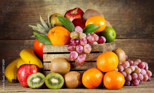 Aluminium Vruchten fresh fruits