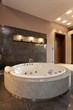 Exclusive round bath