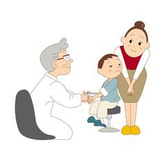 子供の注射
