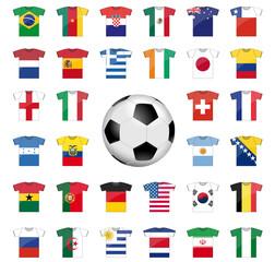 Équipes Coupe du monde de Foot