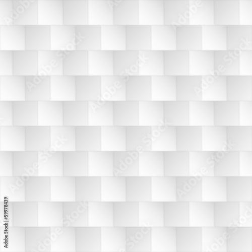 Abstract white seamless geometric pattern, texture