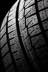 Winter tire tread