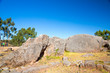 Peru, Qenko, located at Archaeological Park of Saqsaywaman.