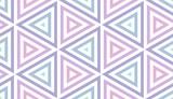 Seamless Pastel Triangles