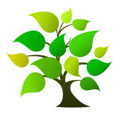 Tree logo (green)
