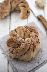 Twisted bread